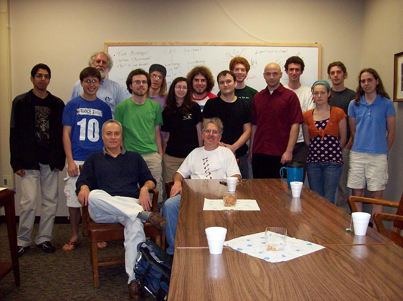 REU 2009 Group Photo