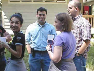 Graduate Student Day 2001 Picture
