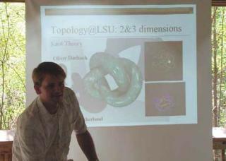 Scott Baldridge - Topology, Mathematics Education