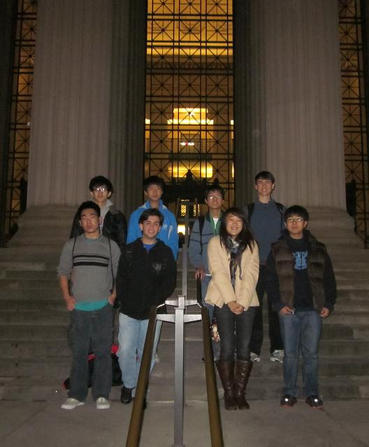 LSU Math Circle team at Harvard-MIT-Math-Tournament