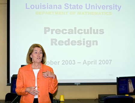 Rouse speaks at 2007 R2R Workshop