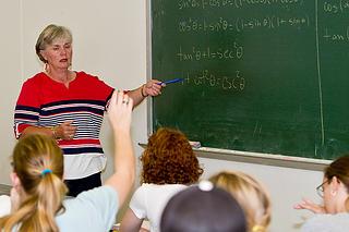 Karla Neal in classroom