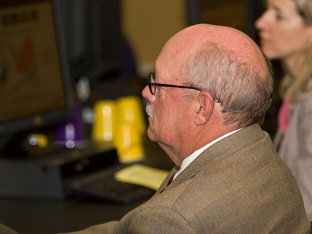 LSU Chancellor Michael Martin