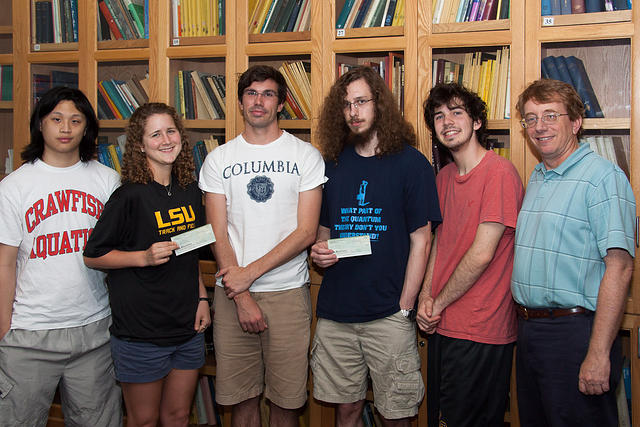 LSU Teams for LA-MS MAA Student Team Competition