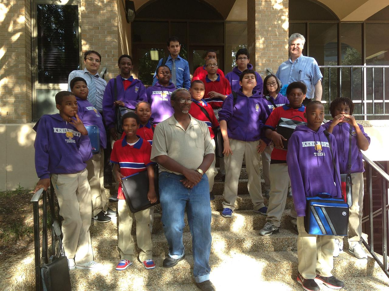 The Math Circle of the Kenilworth Science and Technology Middle School hosted at LSU