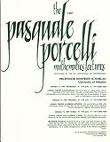 Porcelli Lecture Invitation: Winfried Scharlau 1987