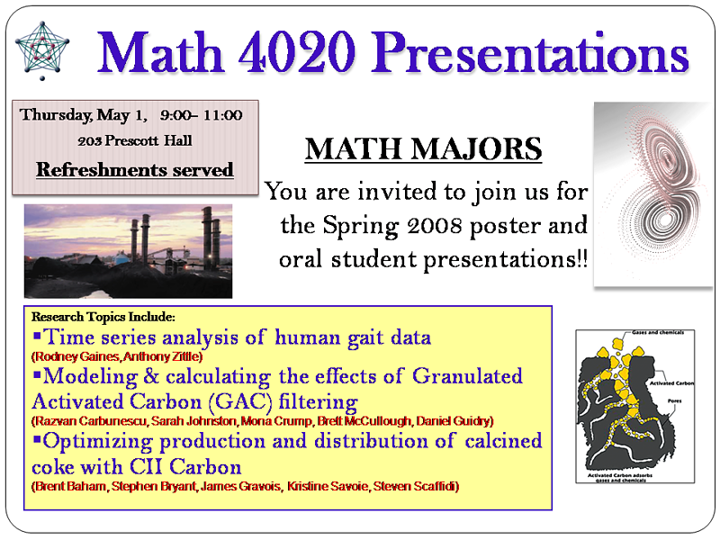 Math Clinic presentation poster