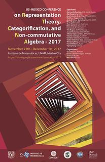 US-Mexico Conference on Representation Theory, Categorification, and Non-commutative Algebra 2017