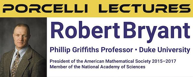 2019 Porcelli Lectures
