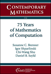 Book: 75 Years of Mathematics of Computation