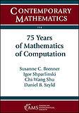Book: 75 Years of Mathematics of Computation