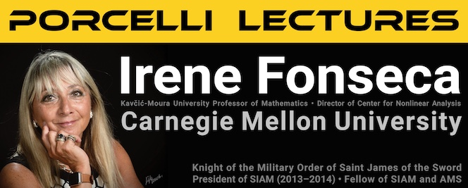 Porcelli Lectures by Irene Fonseca