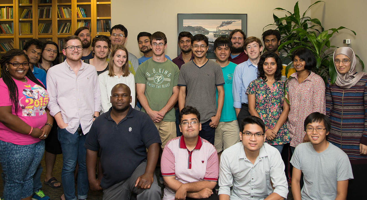 New graduate students, 2016