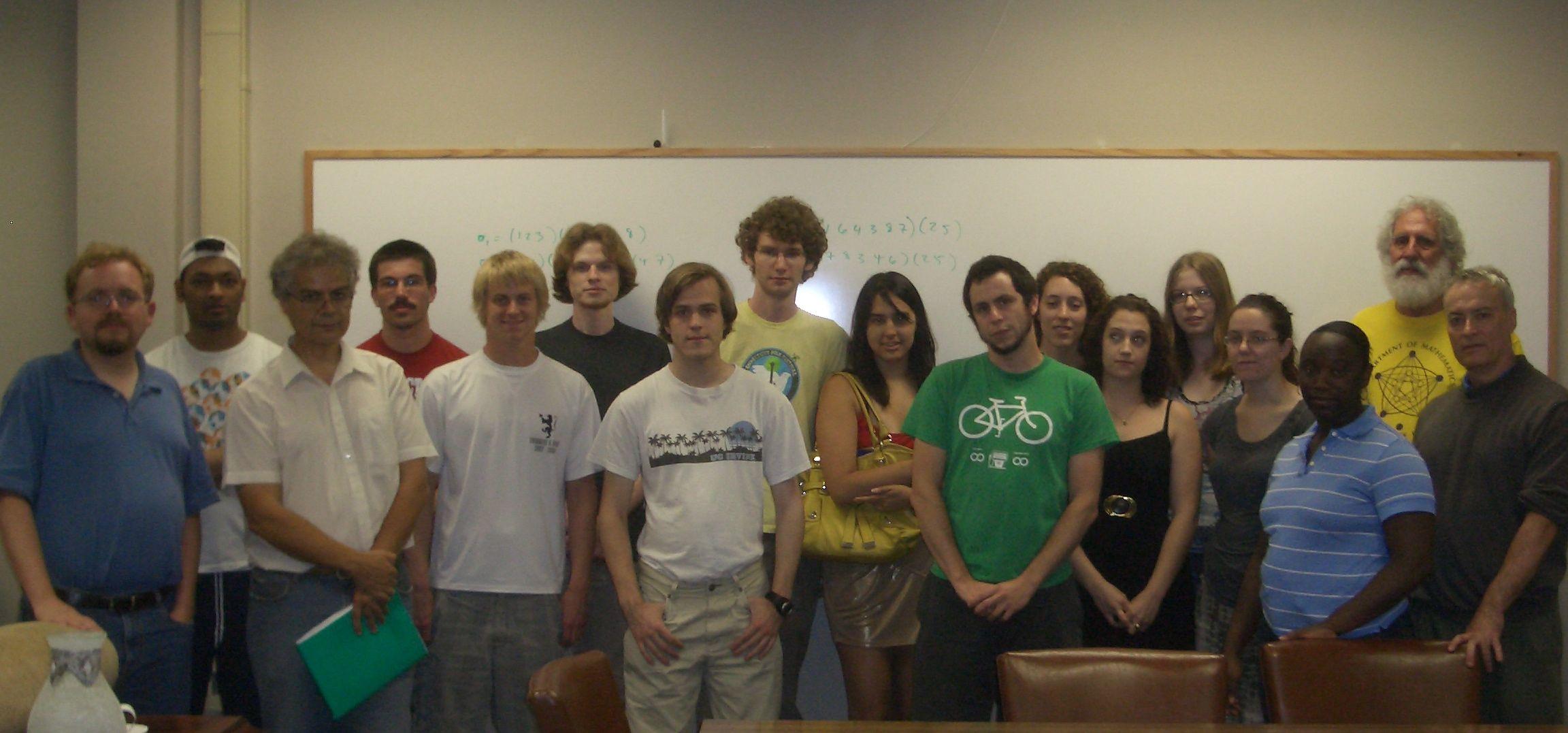 REU 2010 Group Photo