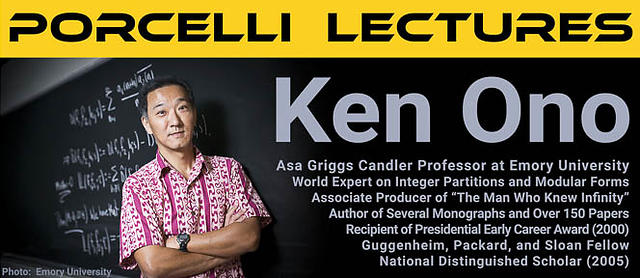2017 Procelli Lectures by Ken Ono