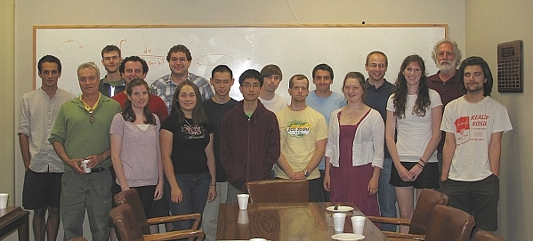 REU 2011 Group Photo