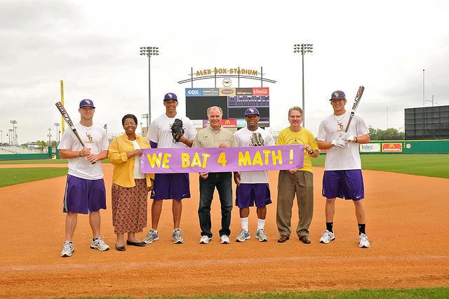 We Bat 4 Math!