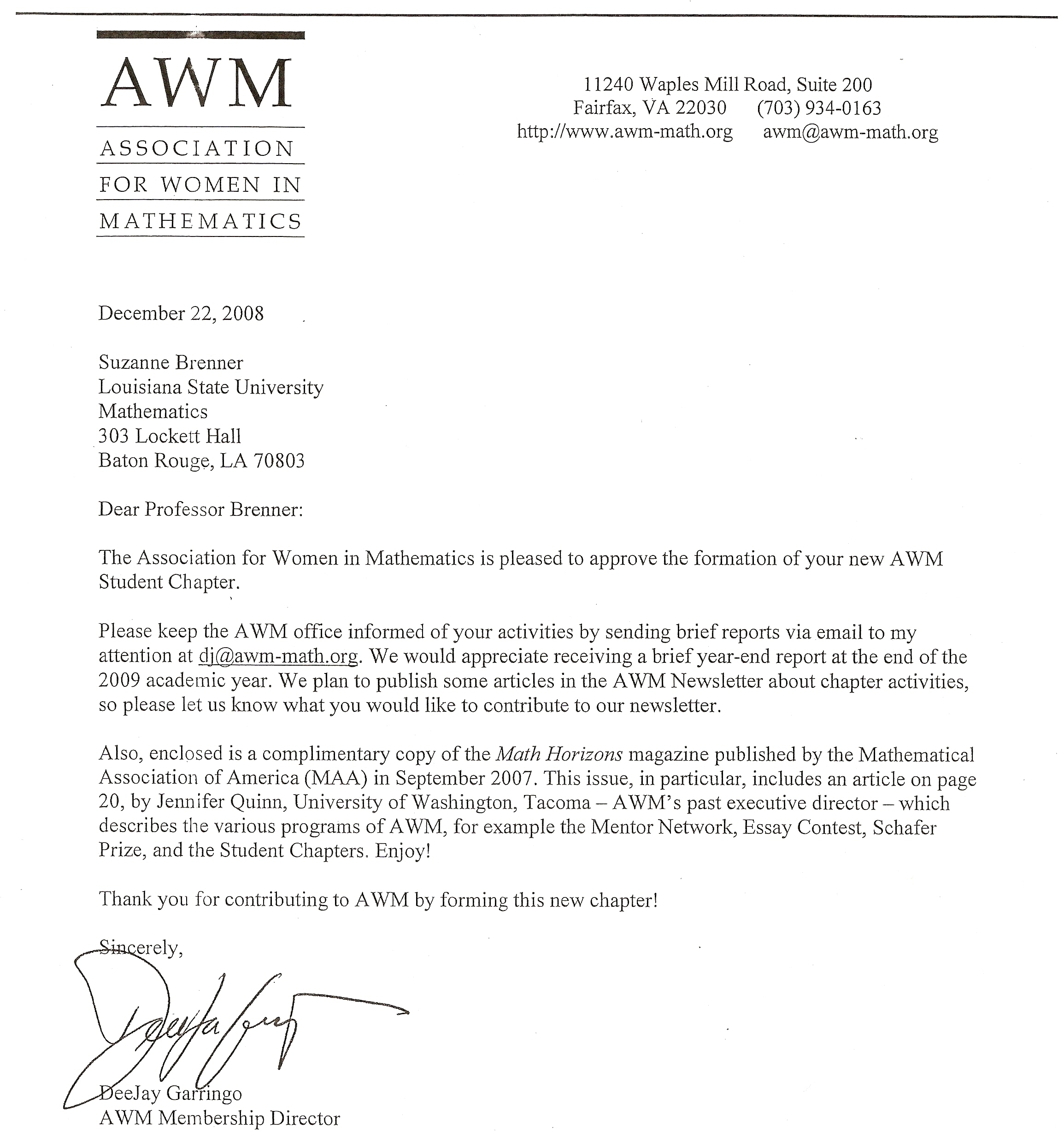 Lsu awm archive letter of approval altavistaventures Gallery