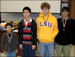 LSU Mathematics Contest for High School Students - 2006 Second ...